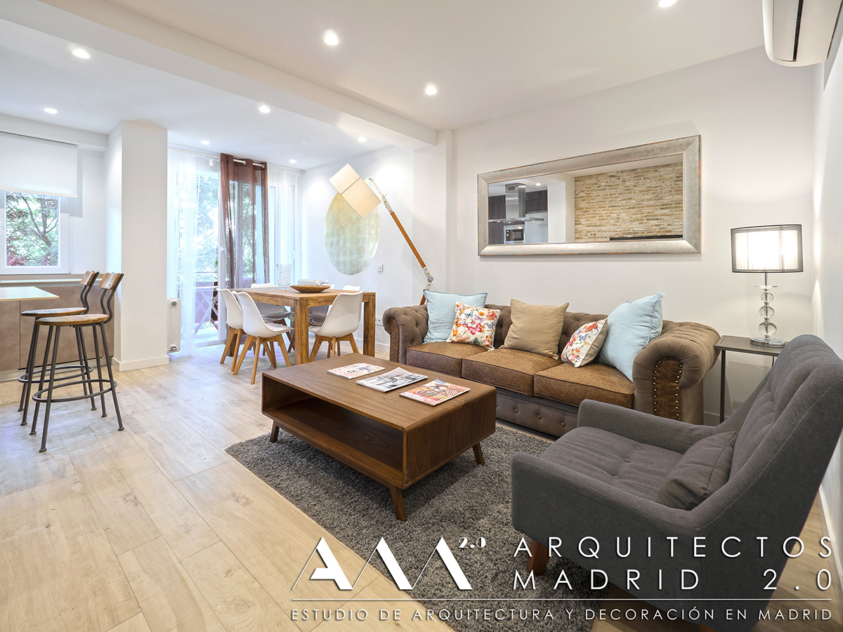 Reforma de apartamento en madrid reformas de viviendas for Reforma piso pequeno
