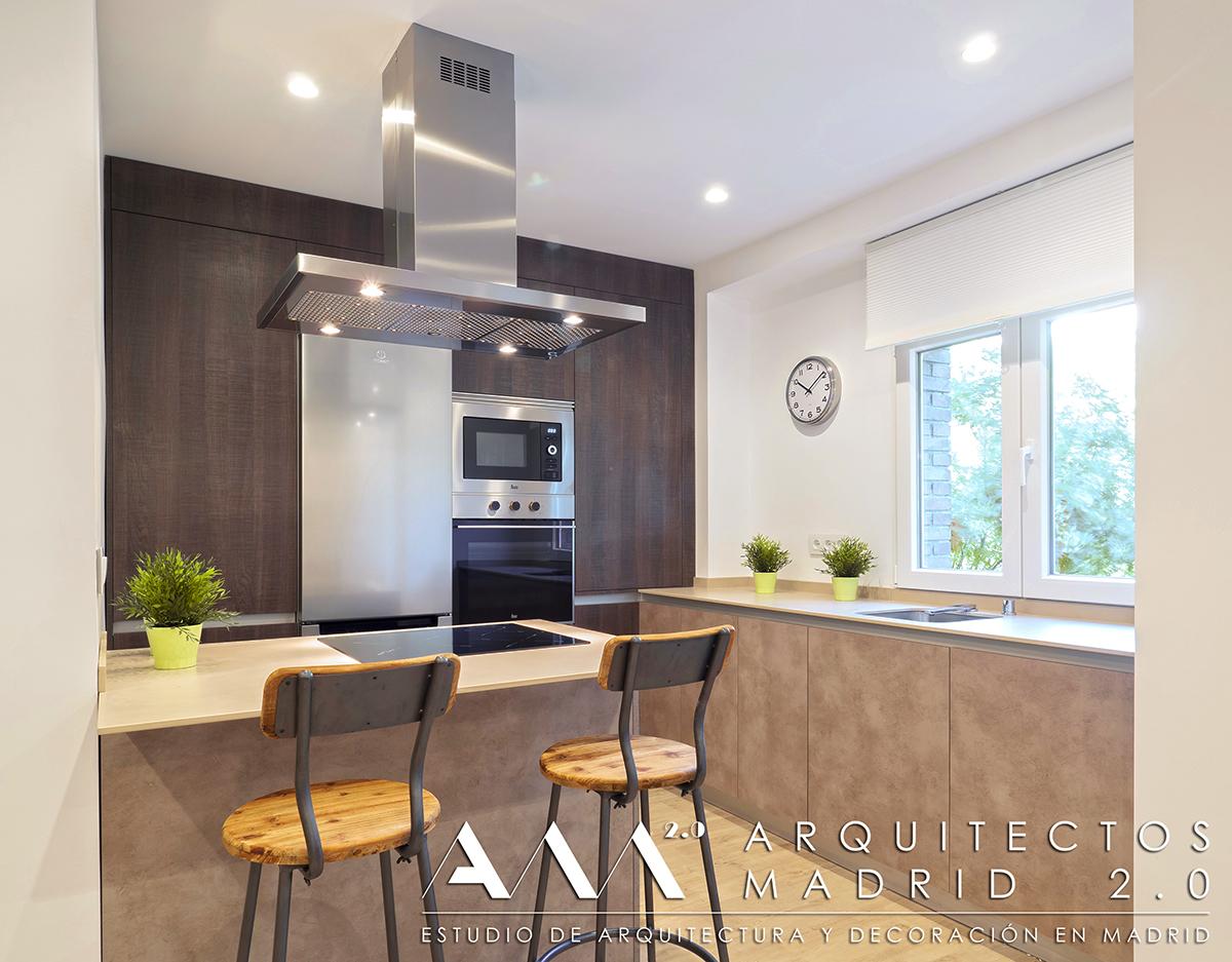 Ideas cocinas peque as cocinas modernas minimalistas - Ideas pisos pequenos ...