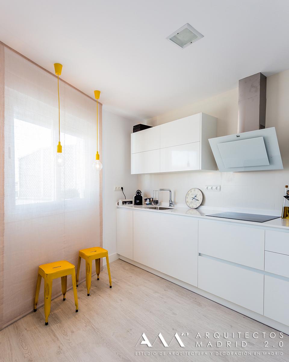 Reforma de loft en madrid decoraci n industrial - Reformas de viviendas en madrid ...