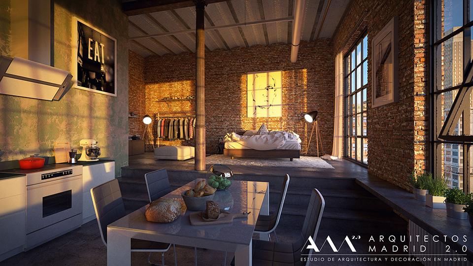 Reforma de apartamento en madrid reformas de viviendas - Trabajo arquitecto madrid ...
