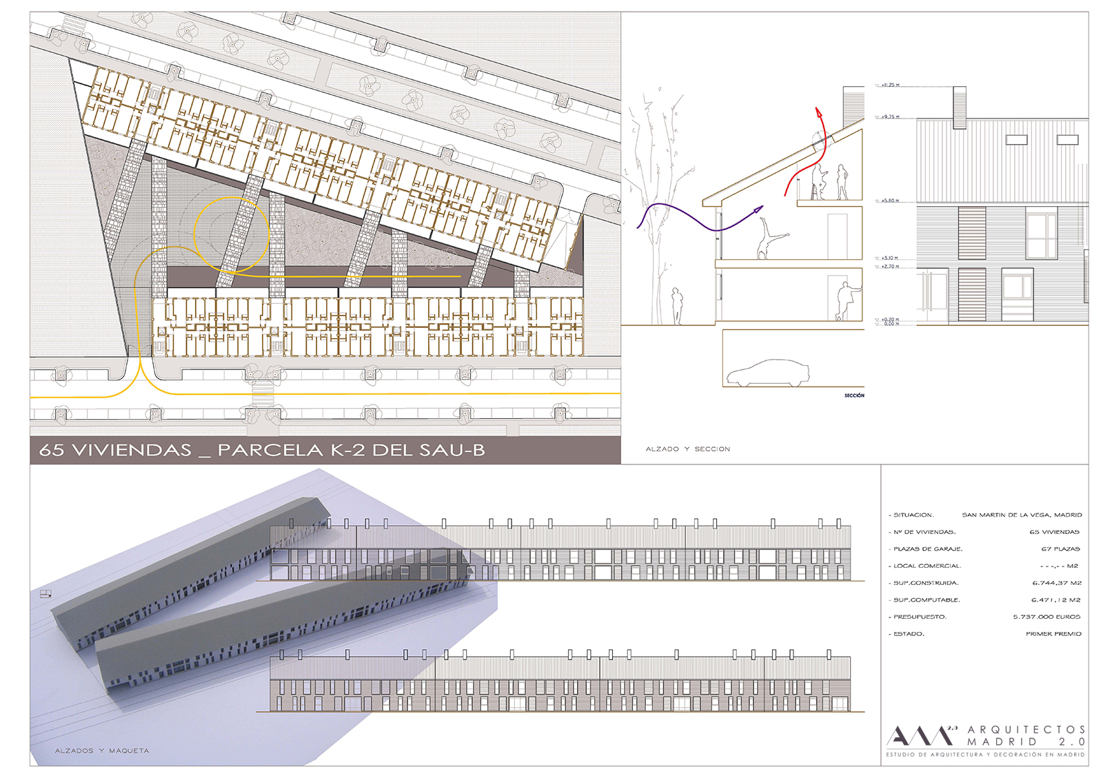 Ideas escaleras interiores de casas escaleras modernas - Trabajo arquitecto madrid ...