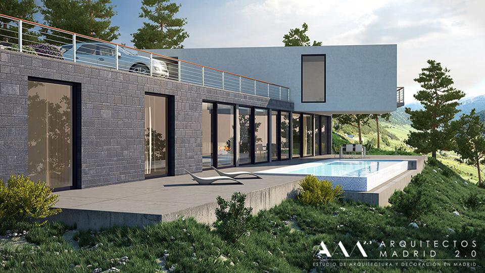 Estanter as y librer as en viviendas ideas decoraci n - Trabajo arquitecto madrid ...