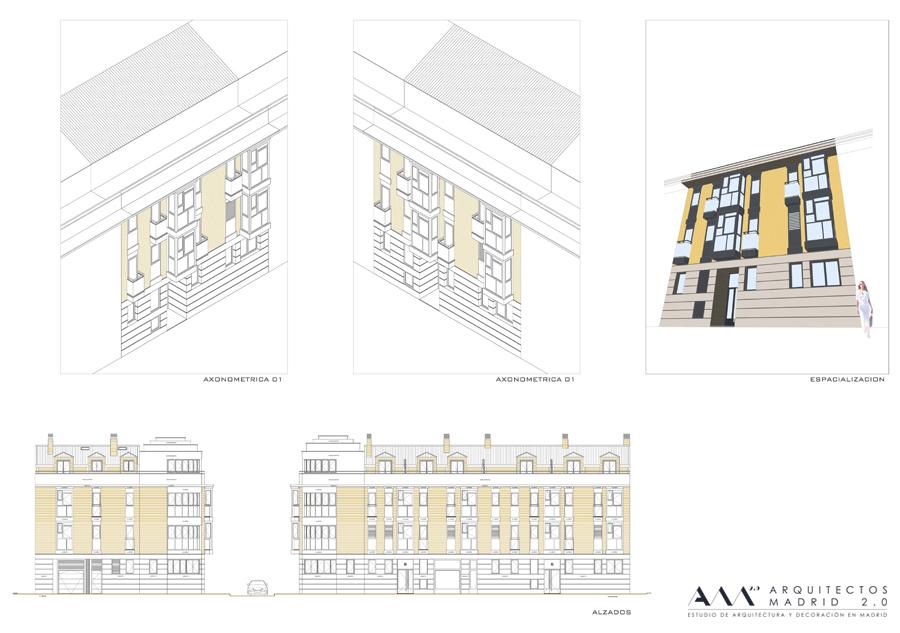 Convertir oficina en vivienda reforma de vivienda en madrid - Trabajo arquitecto madrid ...