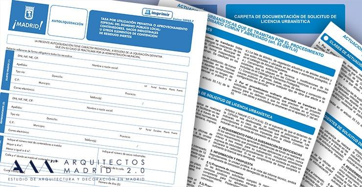 Licencia de obra para reforma de vivienda en madrid arquitectos interiorismo decoracion