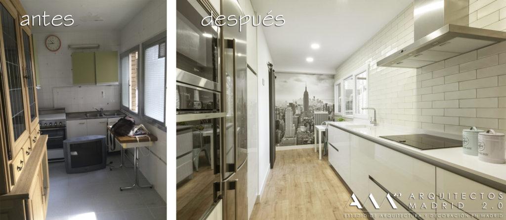 antes-despues-reforma-vivienda-housing-reform-architects-before-after-kitchen-cocina