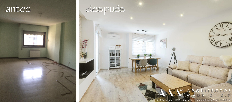 antes-despues-salón-reforma-vivienda-housing-reform-before-after-living-room