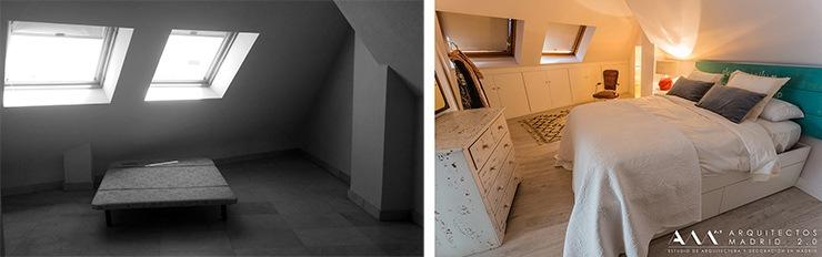 Antes y después de reforma de vivienda en Madrid – Vídeo