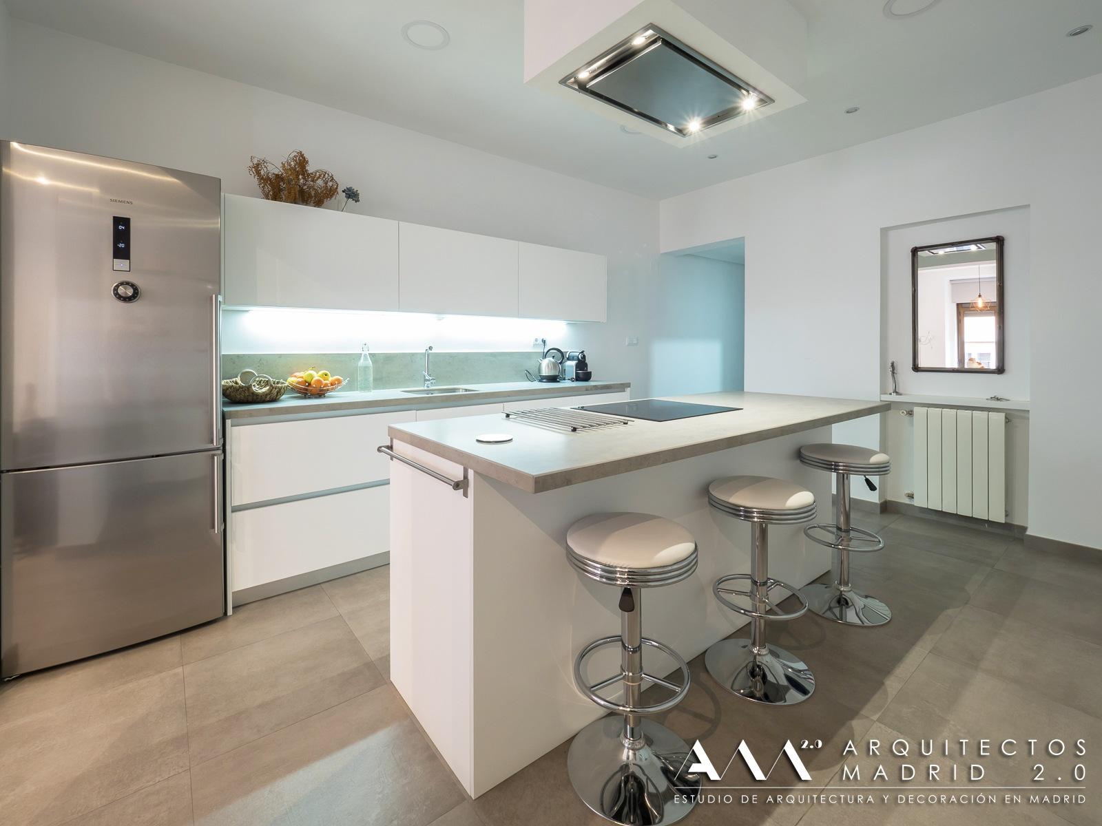 proyectos interiorismo decoracion arquitectos cocina diseno