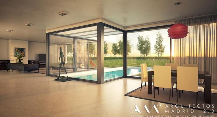 arquitectos madrid - casa moderna en toledo 03 - casas de diseno