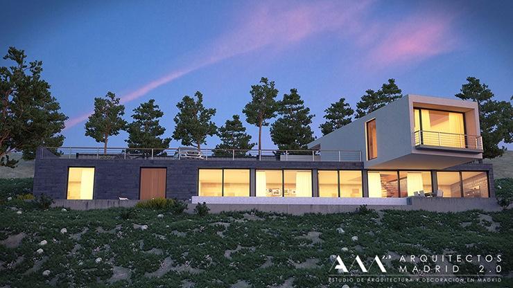 Casas Modernas De Dise O En Madrid Arquitectos Madrid