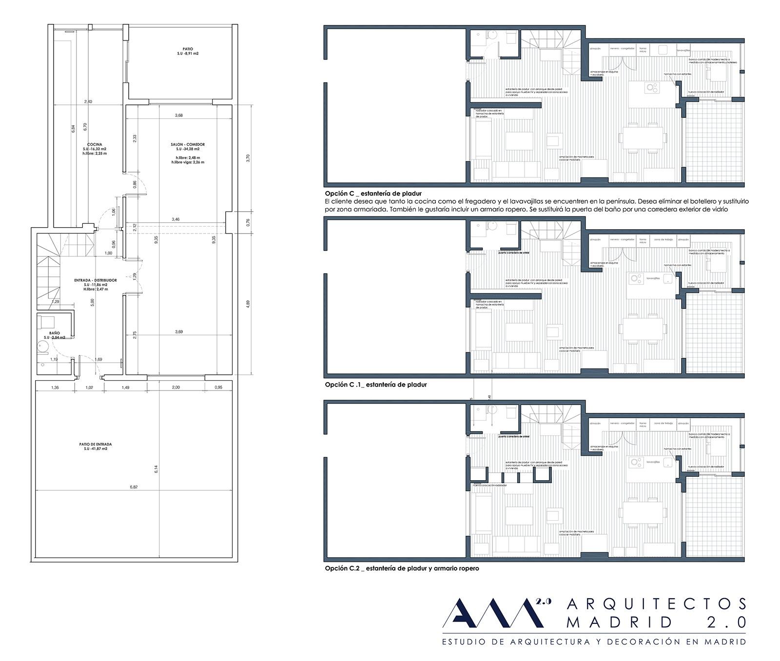 Decoraci n de interiores reforma de chalet en madrid norte - Proyecto de diseno de interiores ...