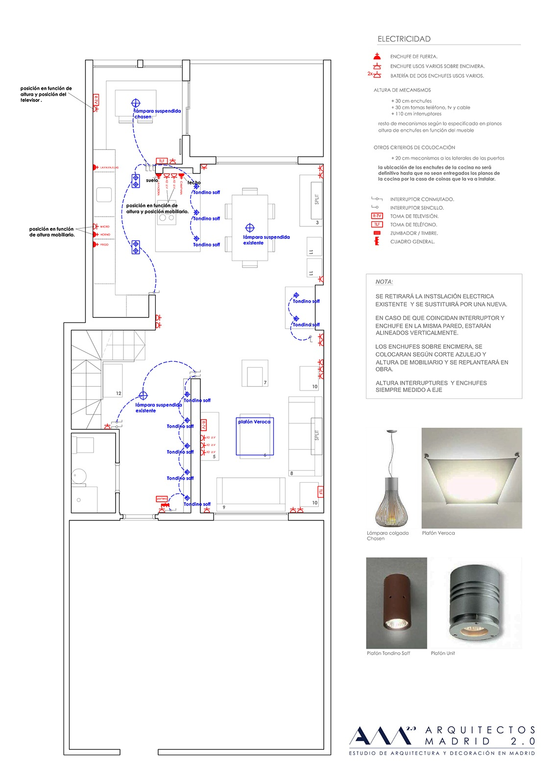 Proyecto de decoracion de interiores great esencia del - Proyecto de diseno de interiores ...