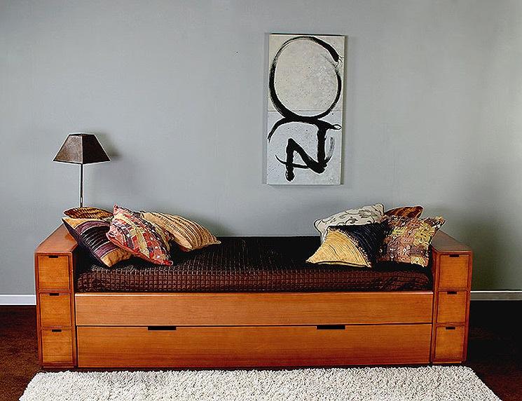 Dormitorios infantiles decoraci n dormitorio juvenil for Sillon cama con cajones