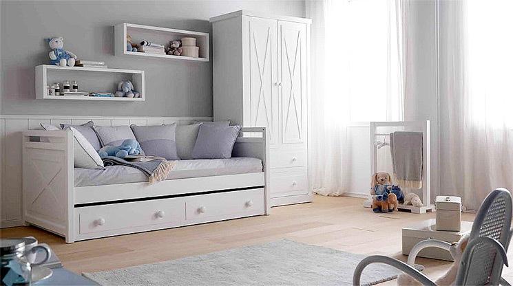 Dormitorios infantiles decoraci n dormitorio juvenil for Cama dormitorio infantil
