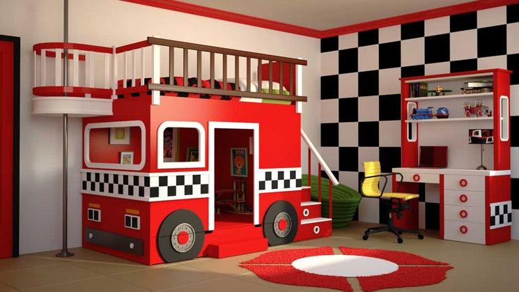 Dormitorios infantiles decoraci n dormitorio juvenil - Camas infantiles de cars ...