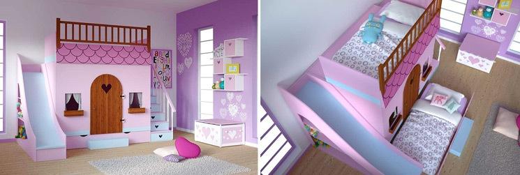 Dormitorios infantiles decoraci n dormitorio juvenil - Dormitorios de princesas ...