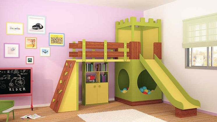 Dormitorios infantiles decoraci n dormitorio juvenil for Juego de habitacion moderno