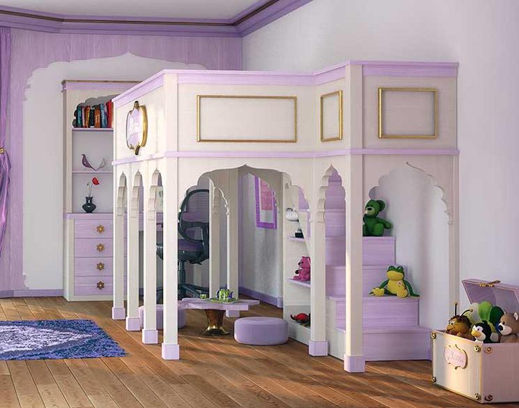 Dormitorios infantiles decoraci n dormitorio juvenil for Habitaciones para 2 ninas