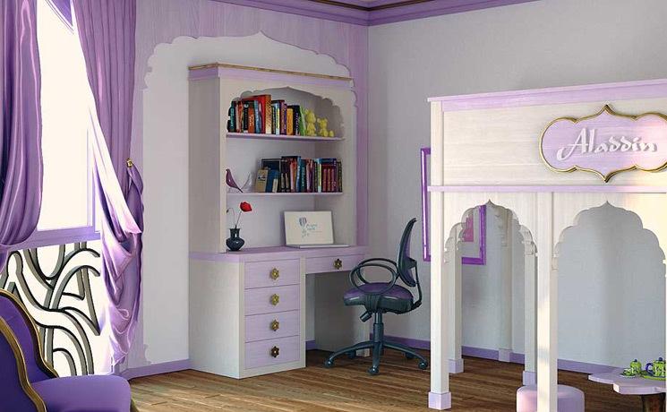Dormitorios infantiles decoraci n dormitorio juvenil for Armarios para habitaciones infantiles