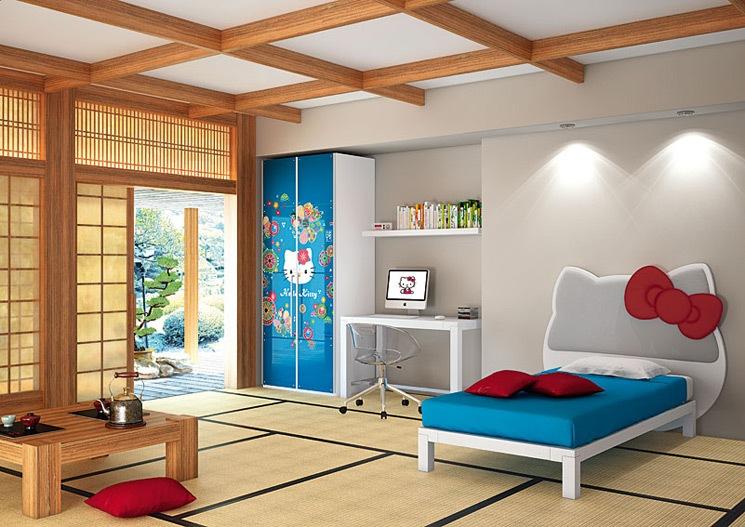 Dormitorios infantiles decoraci n dormitorio juvenil - Habitaciones estilo japones ...