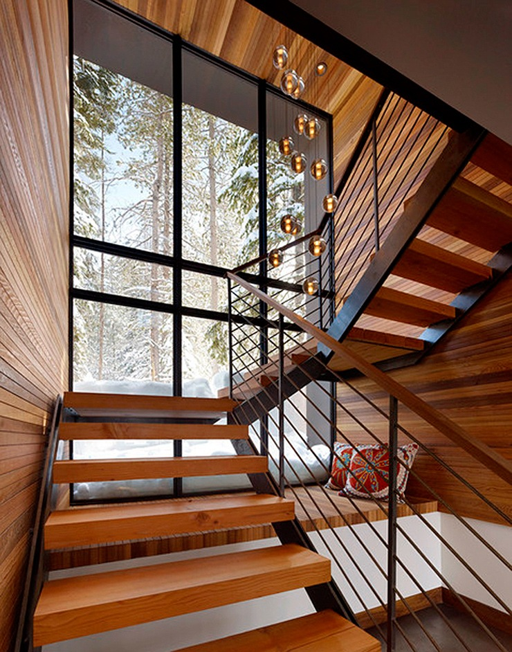 Ideas escaleras interiores de casas escaleras modernas - Ideas para escaleras de interior ...