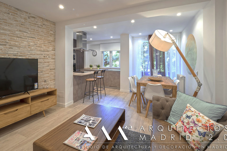 Precio reforma integral piso en madrid presupuestos for Pisos de 40 metros decoracion