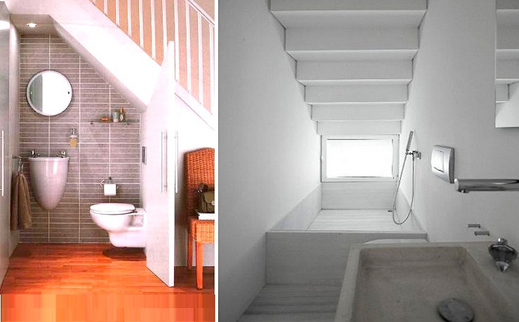 Ideas escaleras interiores de casas escaleras modernas for Bano debajo escalera diseno