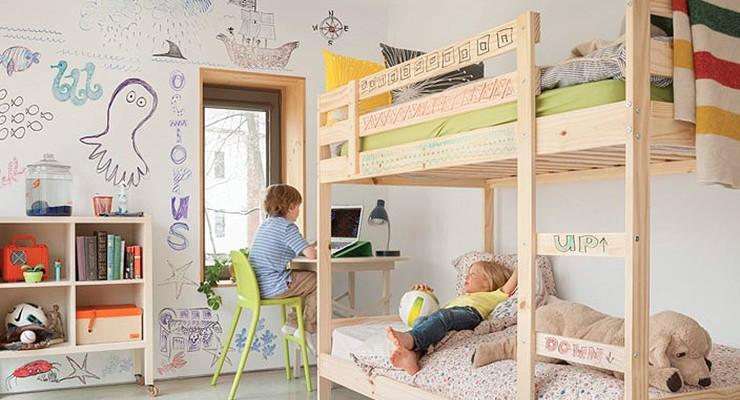 Decoraci n diy decoraci n con collages ideas - Ideas para pintar un dormitorio ...