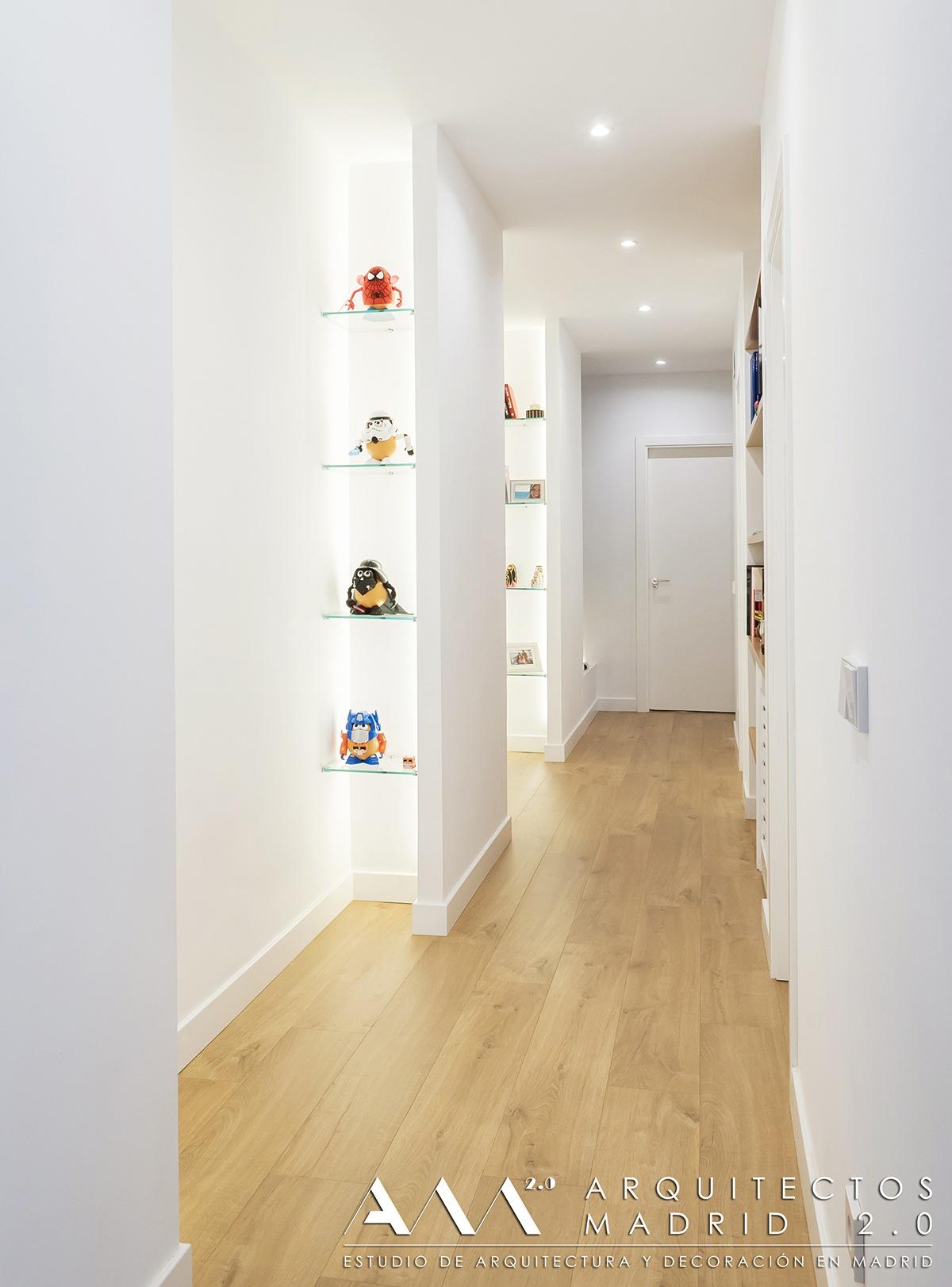 Proyecto y reforma integral de vivienda en avenida reina for Ideas para reformar un piso antiguo