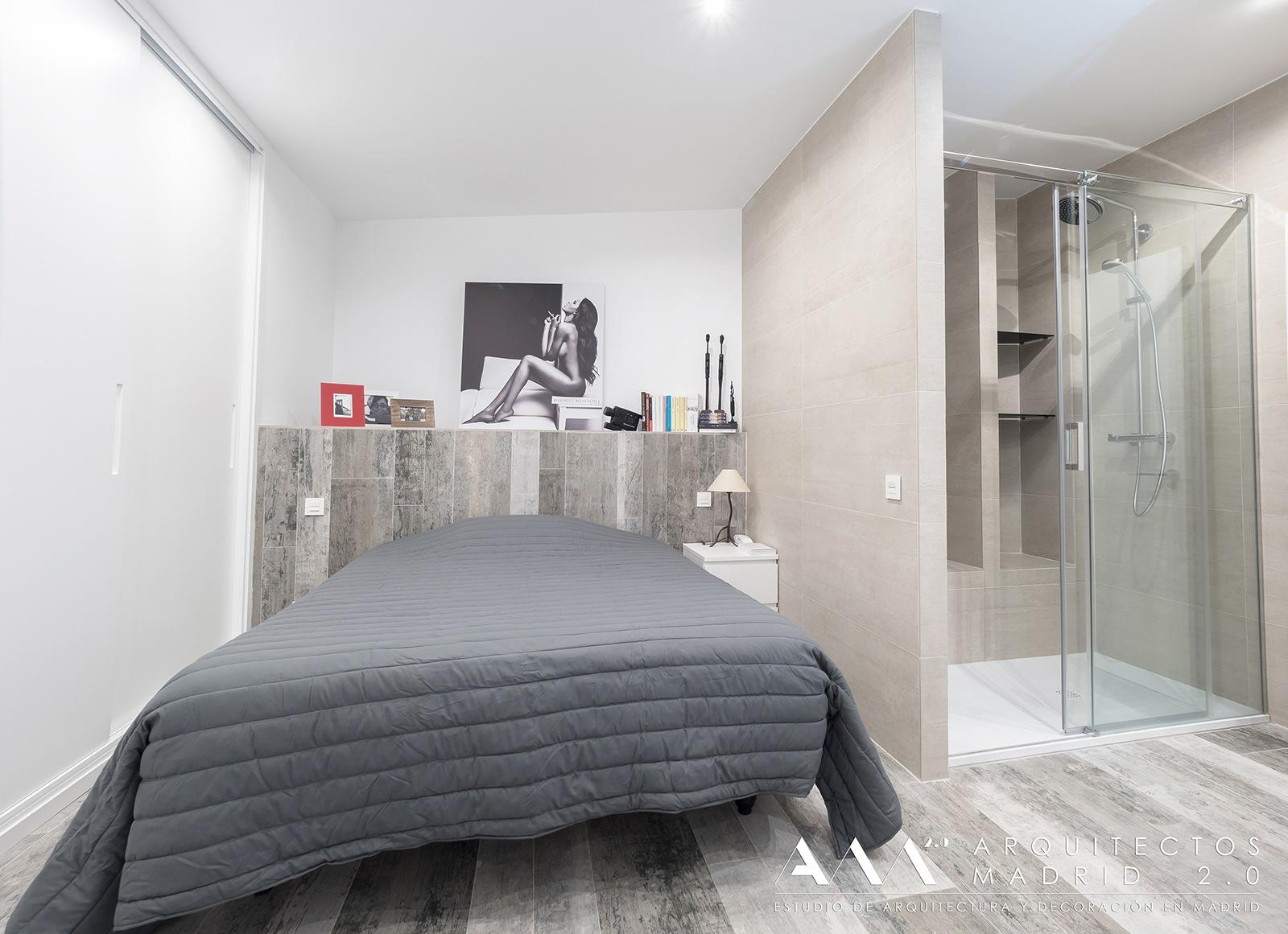 ideas-reformas-pisos-pequenos--decoracion-dormitorio-bano-incorporado