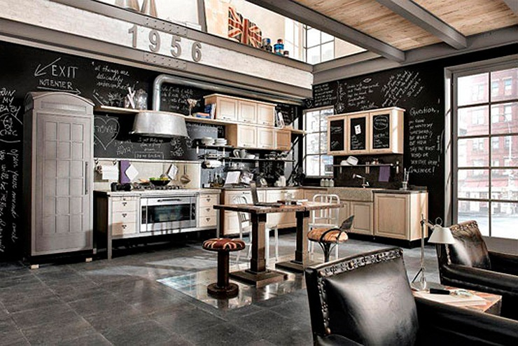 Mobiliario de Cocina Vintage - Mobiliario de Cocina de ...