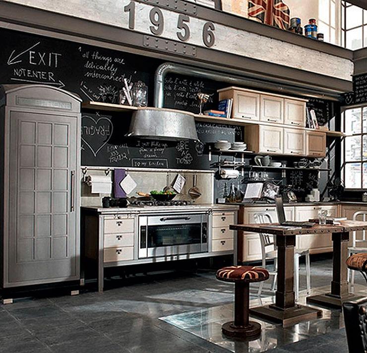 Mobiliario de cocina vintage mobiliario de cocina de dise o vintage - Cocinas de diseno en sevilla ...