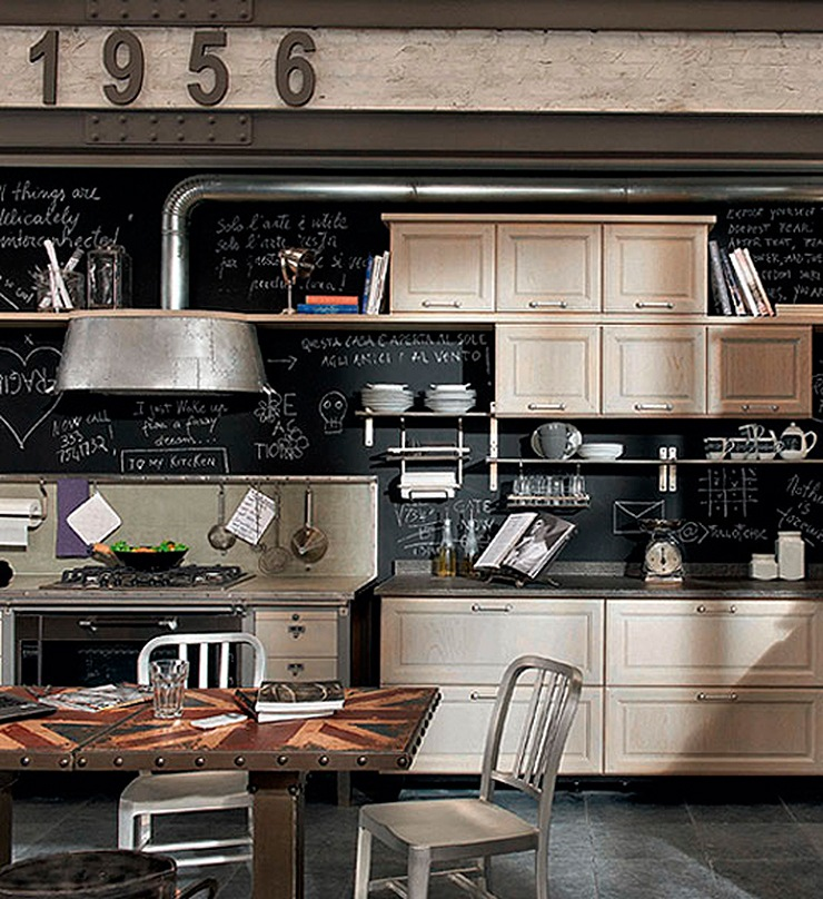 mobiliario de cocina vintage mobiliario de cocina de dise o vintage. Black Bedroom Furniture Sets. Home Design Ideas