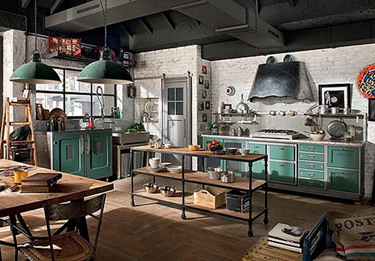 Mobiliario de Cocina Vintage - Mobiliario de Cocina de Diseño Vintage