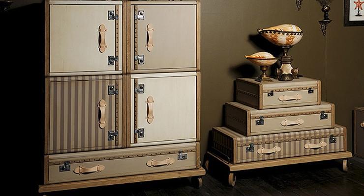 Mobiliario Vintage, Les Valises por Emmanuelle Legavre.