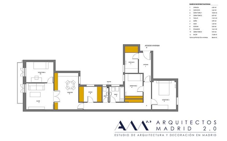 plano-estado-actual-reforma-vivienda-arquitectos-madrid