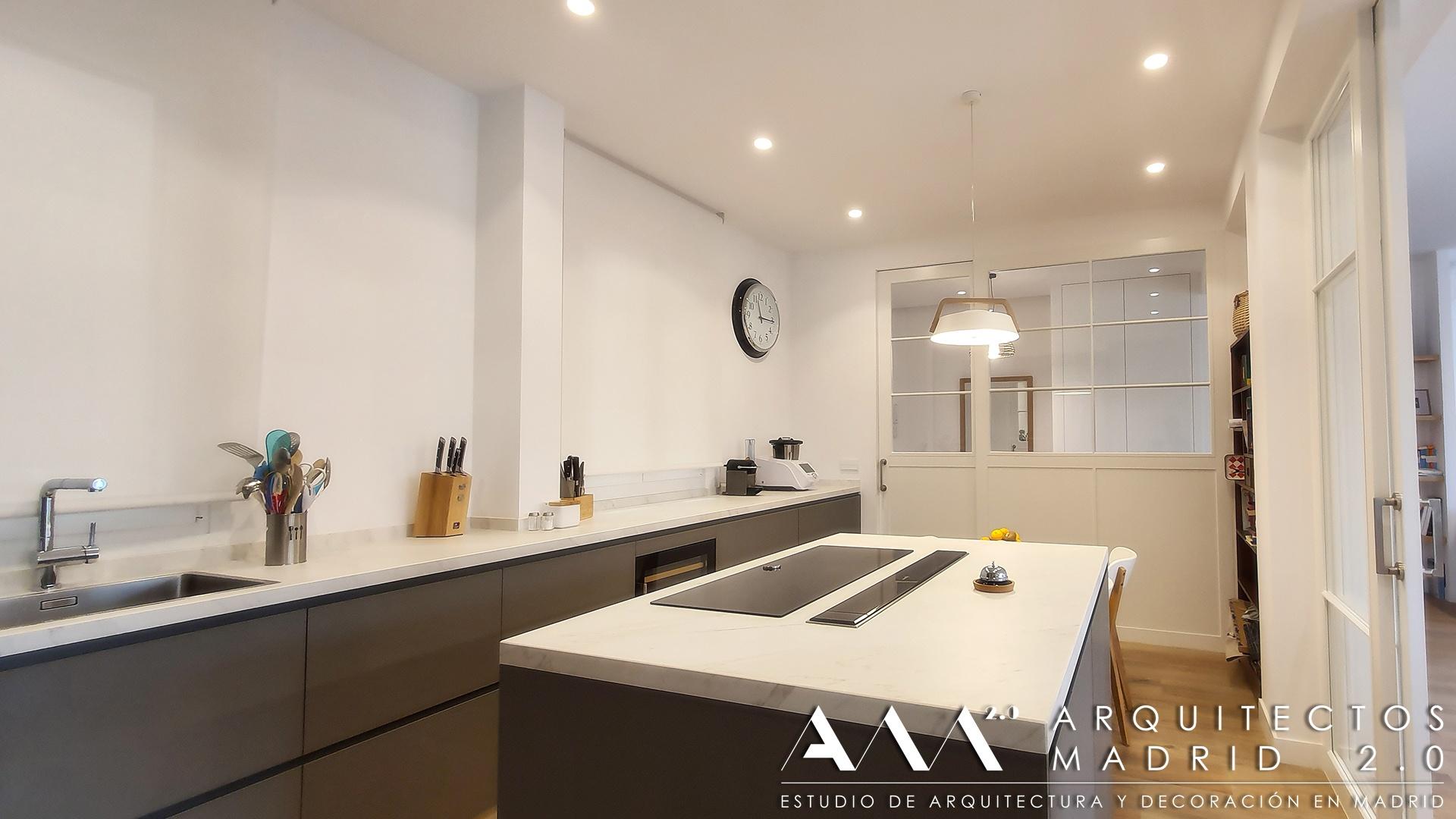 proyecto-reforma-integral-vivienda-arquitectos-madrid-ideas-decoracion-salon-cocina-home-interior-design-14