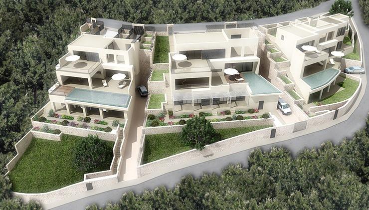 Proyectos de viviendas unifamiliares casas de dise o madrid - Proyectos para construir una casa ...