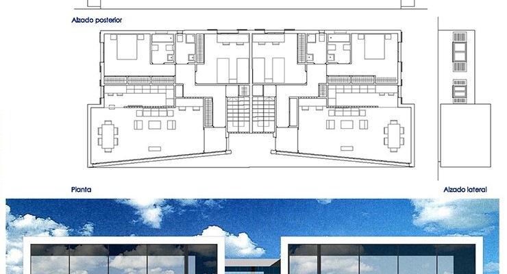 2 viviendas unifamiliares en Lanzarote – Casa A + I