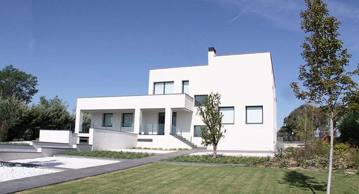 Casa de diseño minimalista en Madrid