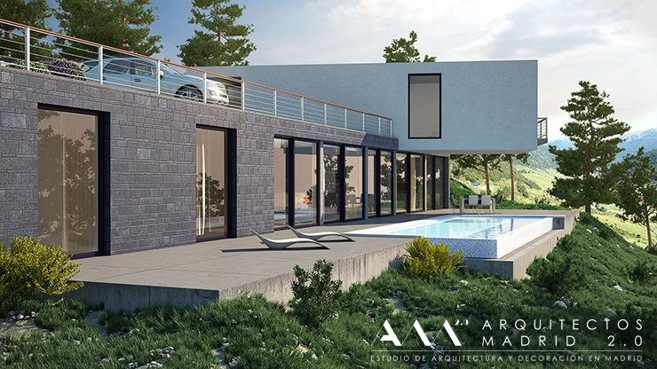 proyectos-y-construccion-de-casas-de-diseno-en-madrid