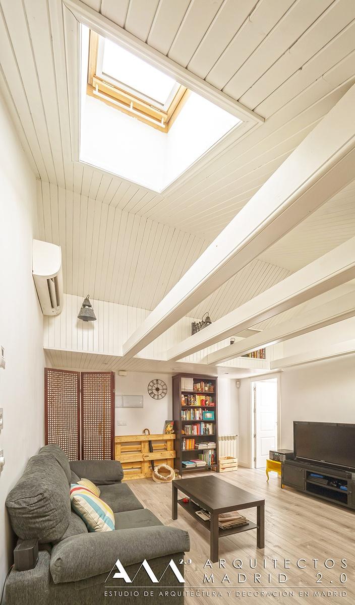 reforma atico buhardilla arquitectos madrid