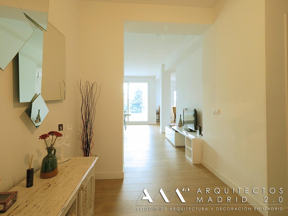 Reforma de piso en madrid de 100 m2 antes y despu s for Reformas de pisos en madrid