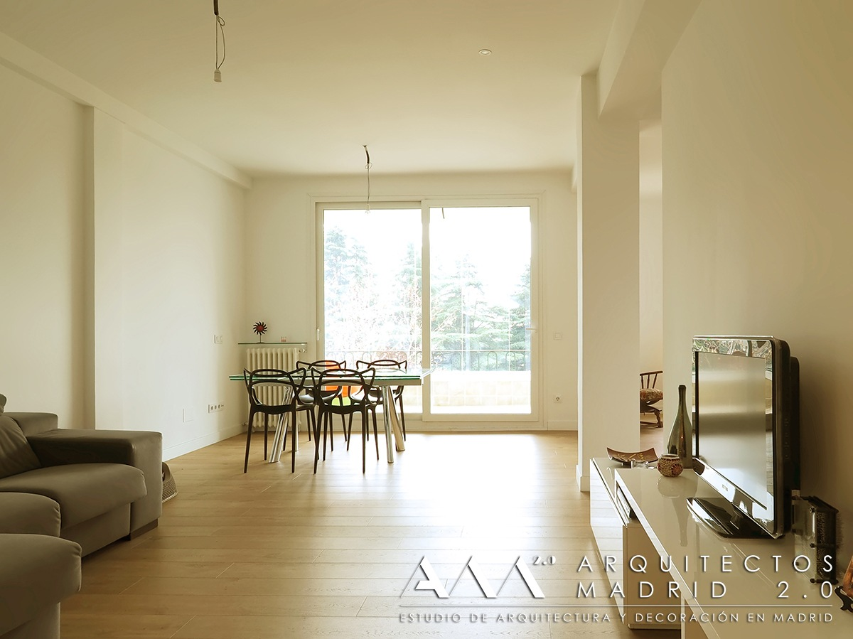 Reforma de piso en madrid de 100 m2 antes y despu s for Pisos com madrid
