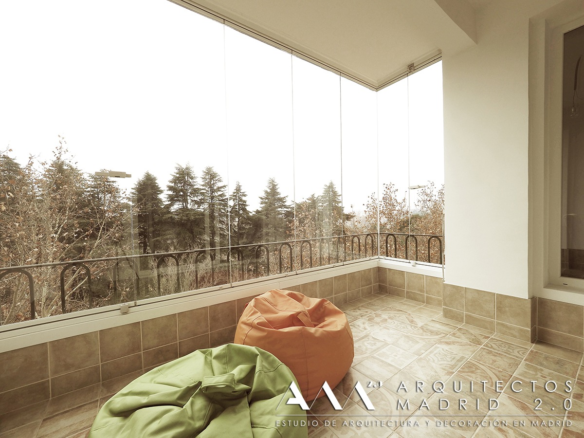 Reforma de piso en madrid de 100 m2 antes y despu s for Pisos con terraza madrid