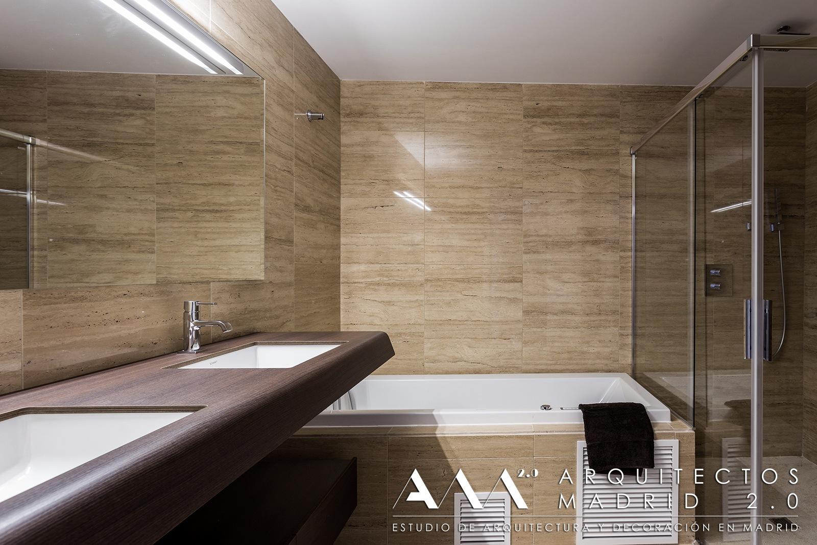 reforma y decoración de apartamento de lujo en madrid