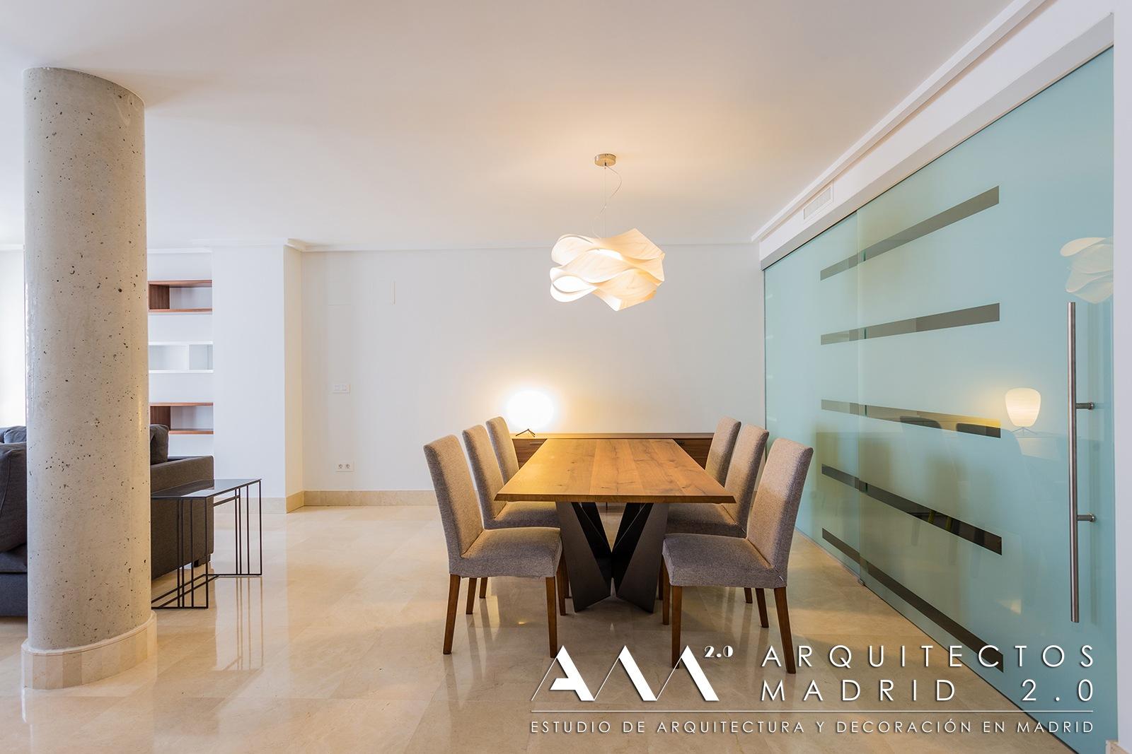 Reforma y decoraci n de apartamento de lujo en madrid for Cocinas de lujo madrid