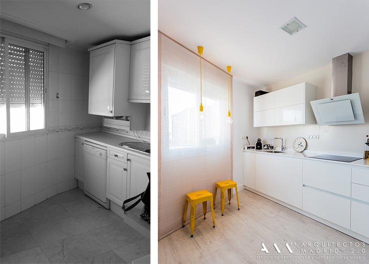 Compra de vivienda de segunda mano en madrid ideas - Reformas de cocinas antes y despues ...