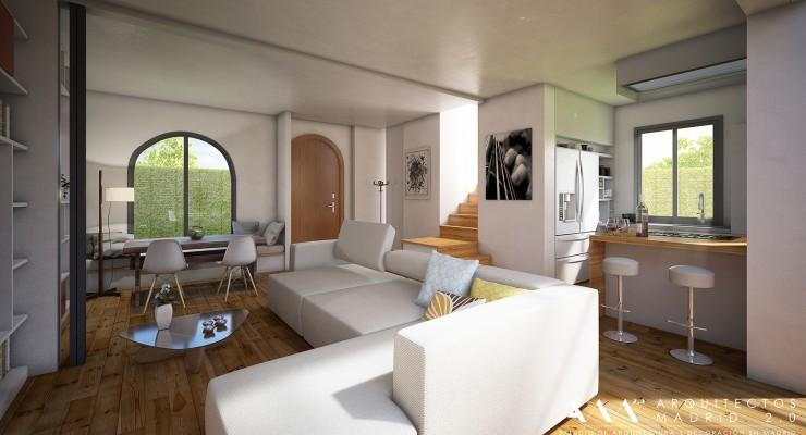 Reforma de tico en madrid reformar piso en madrid for Remodelar piso antiguo
