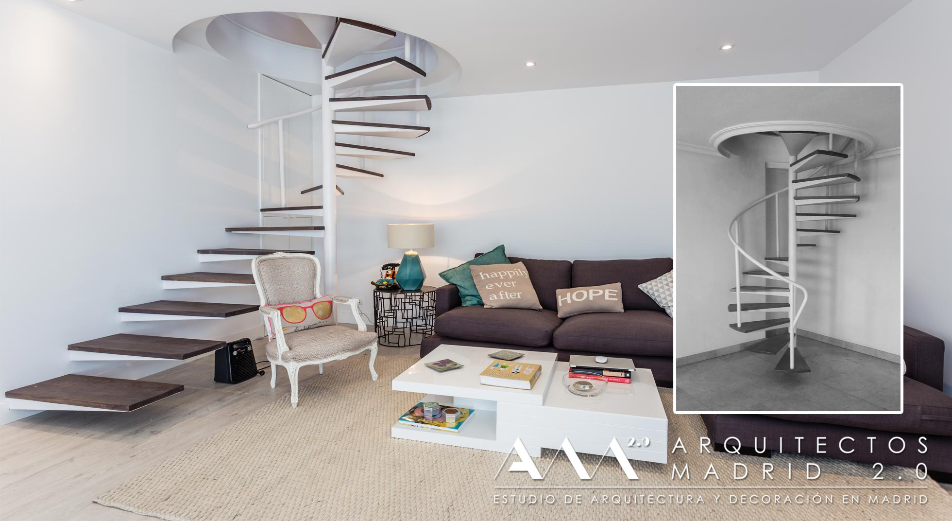 Reformas de viviendas en madrid antes y despu s for Ideas para reformar una casa pequena